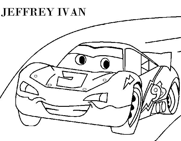 Dibujo de Lightning McQueen para Colorear  Dibujosnet