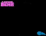 Dibujo de Lucius Dumb - El extraordinario viaje de Lucius Dumb