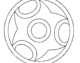 Dibujo de Mandala 12 para colorear