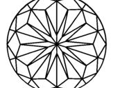 Dibujo de Mandala 41 para colorear
