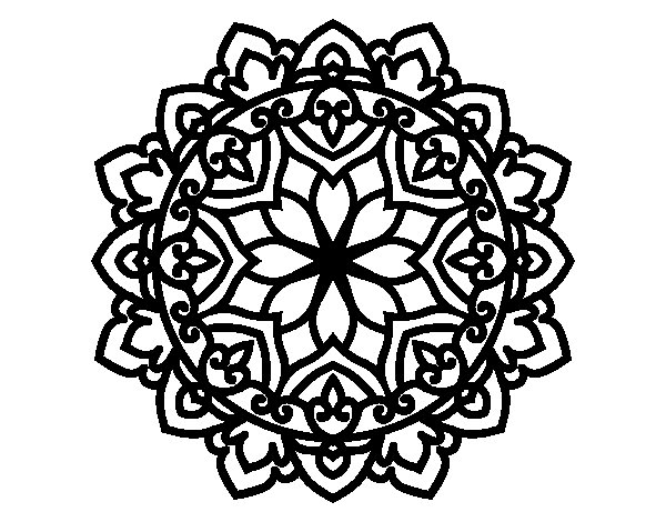 Dibujos Para Imprimir Y Colorear Mandalas: Dibujo De Mandala Celta Para Colorear