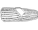 Dibujo de Mazorca de maíz 1 para colorear