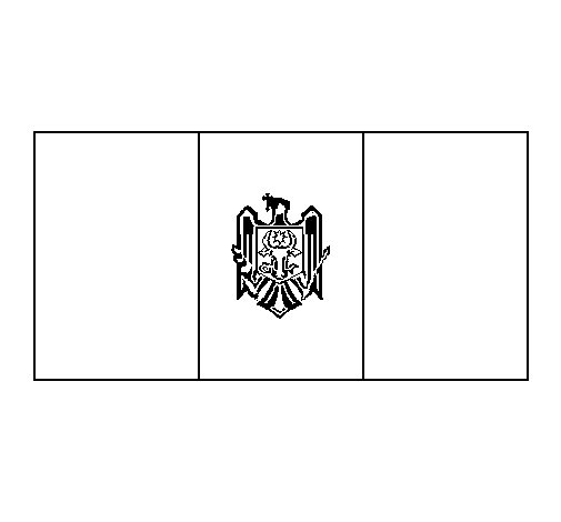 Dibujo de Moldavia para Colorear