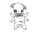 Dibujo de Monstruo fauno