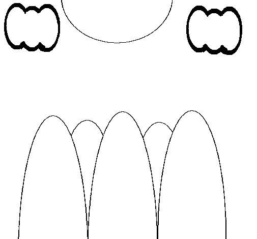 Dibujo de Montañas 2 para Colorear