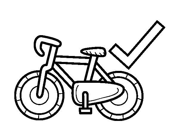 Dibujo de Movilidad sostenible para Colorear