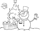 Dibujo de Navidad II