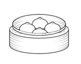 Dibujo de Nikuman para colorear