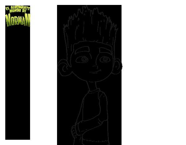Dibujo de Norman para Colorear