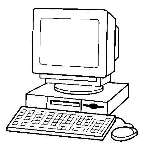 Dibujo de Ordenador 2 para Colorear