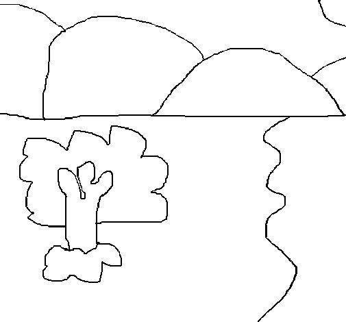 Dibujo de Paisaje 1 para Colorear