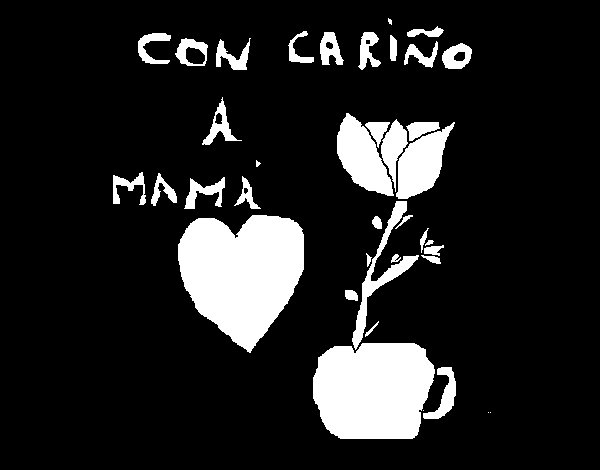 Dibujo de Para mamá para Colorear