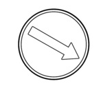 Dibujo de Paso obligatorio 2 para colorear