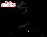 Dibujo de Princesa cantante
