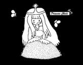 Dibujo de Princesa chicle para colorear