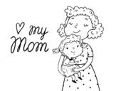 Dibujo de Quiero a mi mamá