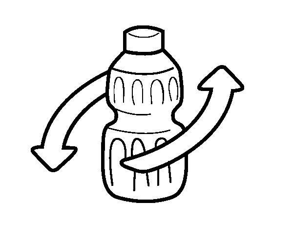 Reciclaje | Rayito de Colores |Reciclar Para Colorear
