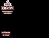 Dibujo de Robokek el robot para colorear