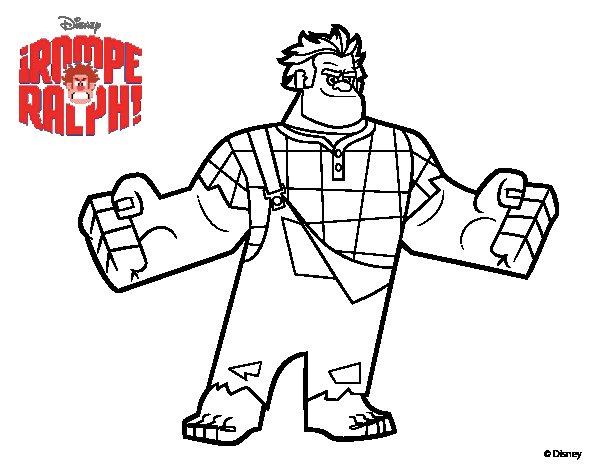 Dibujos Animados De Disney Para Colorear Peter Pan Peter: Dibujos Para Pintar De Rompe Ralph Dibujos Para Colorear