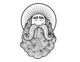 Dibujo de Santo