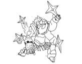 Dibujo de Skylanders Imaginators de Izan