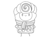 Dibujo de Súper gofre