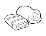 Dibujo de Toallas de ducha para colorear