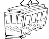 Dibujo de Tranvía para colorear