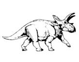 Dibujo de Triceratops 1 para colorear