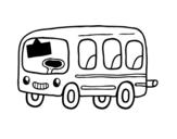 Dibujo de Un autobús escolar