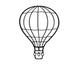Dibujo de Un globo aerostático para colorear