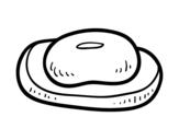 Dibujo de Una pastilla de jabón para colorear