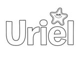 Dibujo de Uriel para colorear