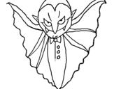 Dibujo de Vampiro terrorífico