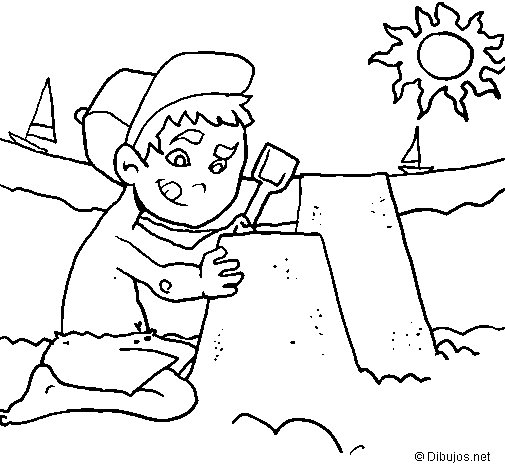 Dibujo de Verano para Colorear