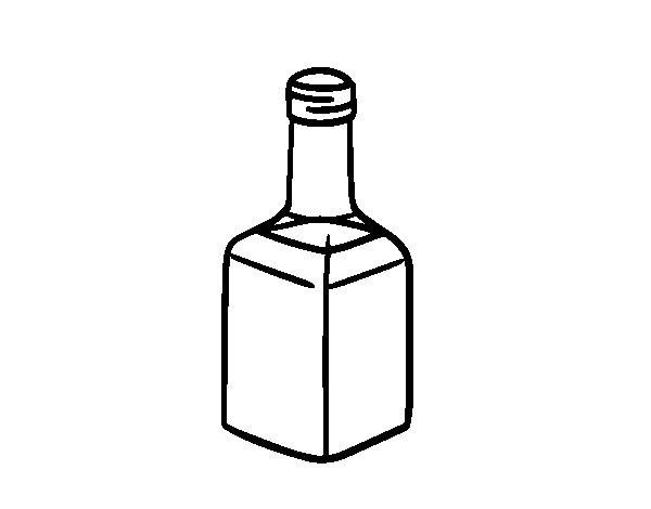 Dibujo de Vinagre de módena para Colorear