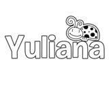 Dibujo de Yuliana
