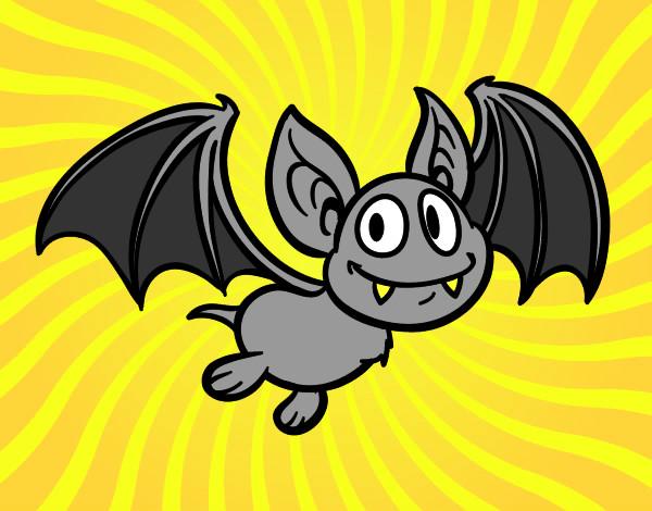 Dibujos De Murciélagos Para Colorear Dibujosnet