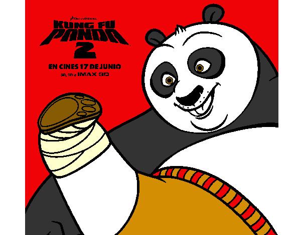 Dibujos de Kung Fu Panda para Colorear - Dibujos.net