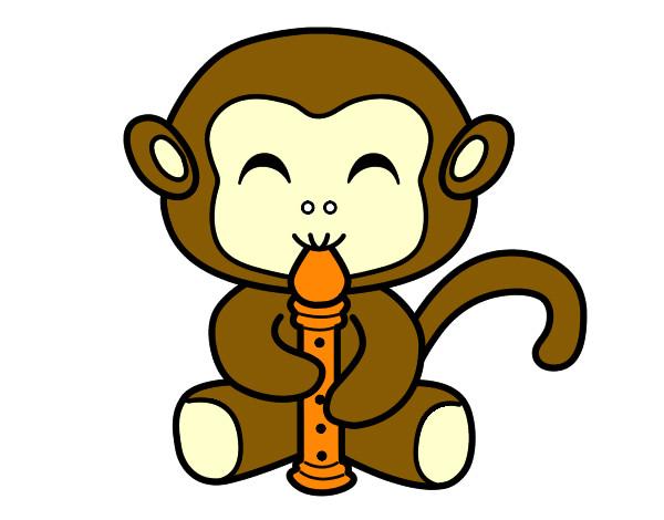 Dibujos De Monos Para Colorear Dibujosnet