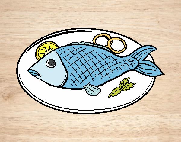 Dibujos De Pescado Para Colorear