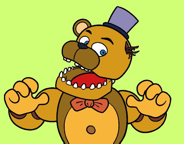Dibujos De Five Nights At Freddys Para Colorear Dibujosnet