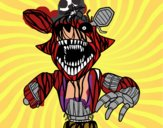 Foxy terrorífico de Five Nights at Freddy's