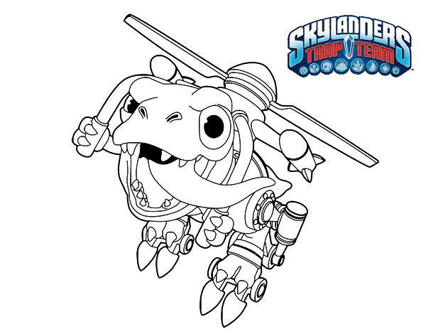 Dibujo de Chopper para Colorear - Dibujos.net