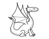 Dibujos De Dragones Para Colorear Dibujosnet