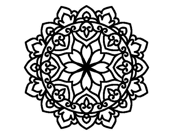 Imagenes Mandala Para Colorear 83: Dibujo De Mandala Celta Para Colorear