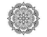 Dibujo De Mandala 29 Para Colorear Dibujosnet
